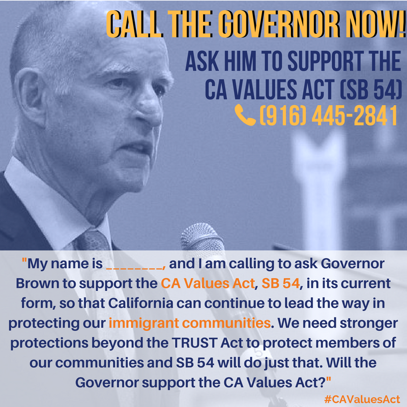 call Governor Brown poster