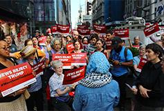 Jews Reject Trump protest
