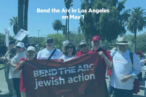 Bend the Arc in Los Angeles on May 1