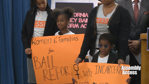 women and families for bail reform