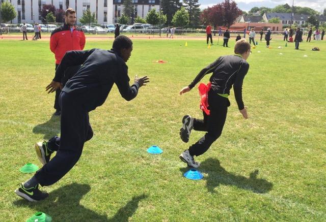 athlétisme adapté bénévole