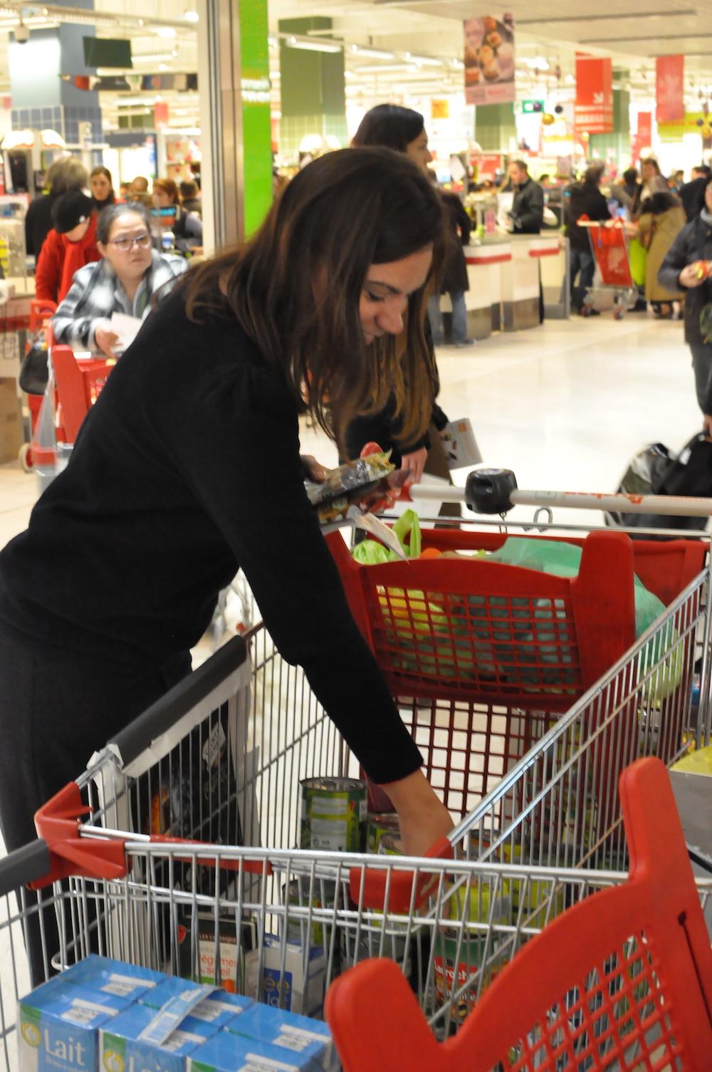 collecte alimentaire bénévoles
