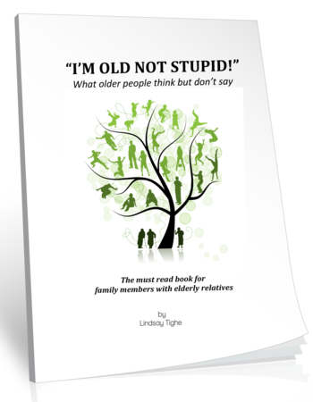 Book cover - I'm Old, Not Stupid
