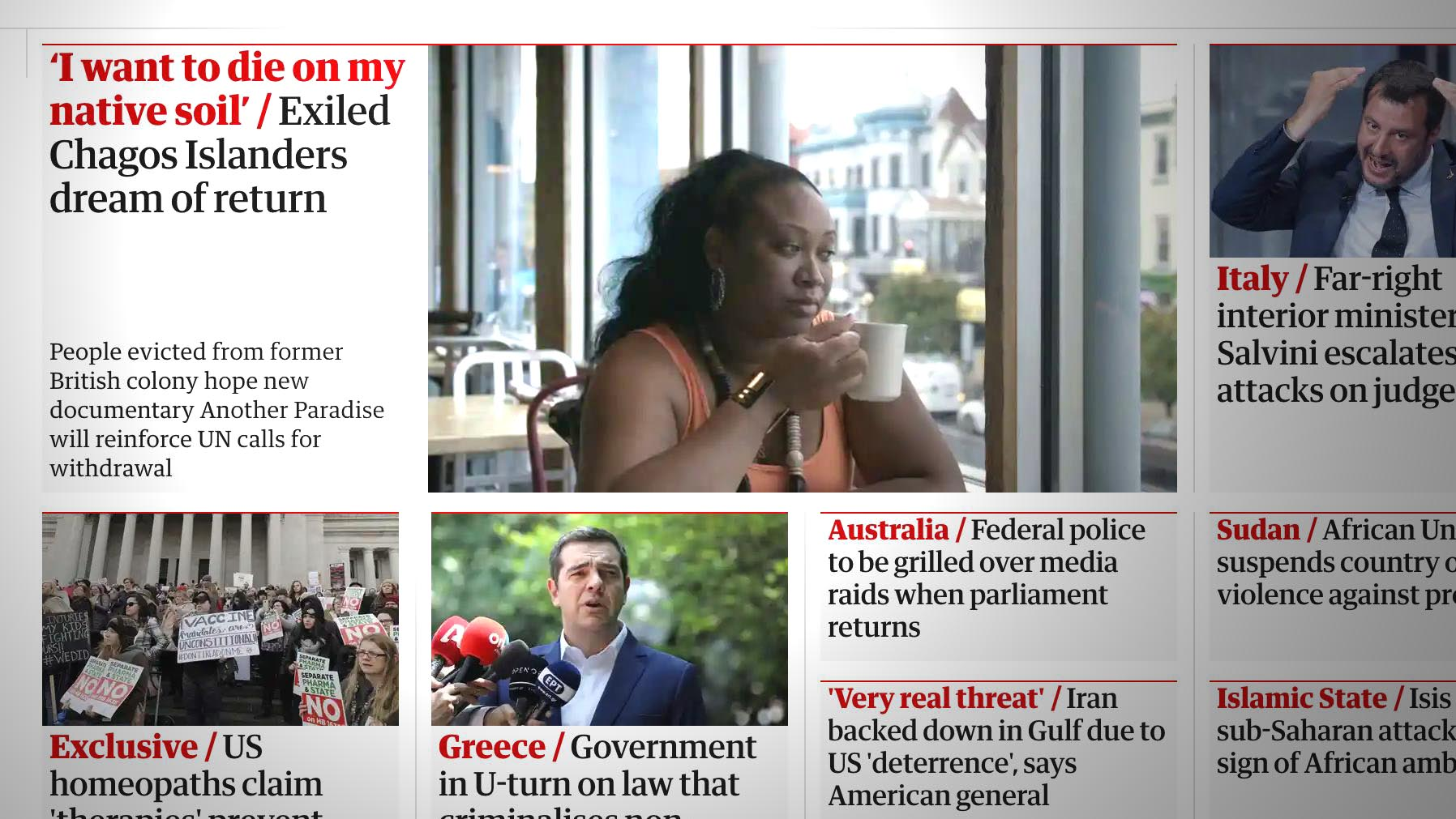 Excerpt from the Guardian