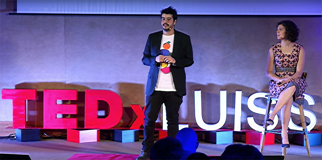 TEDx: from maggots in cheese to a food revolution