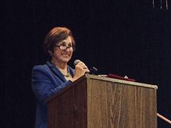 Marg Elliston, newly-elected Chairwoman