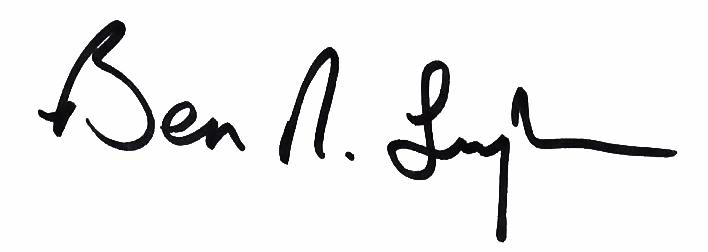 Ben Ray Signature