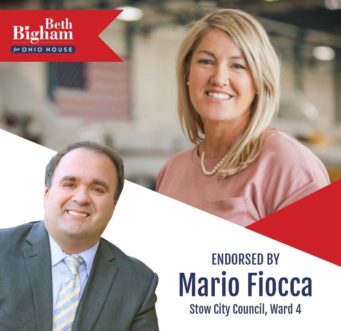 Mario Fiocca Endorsement