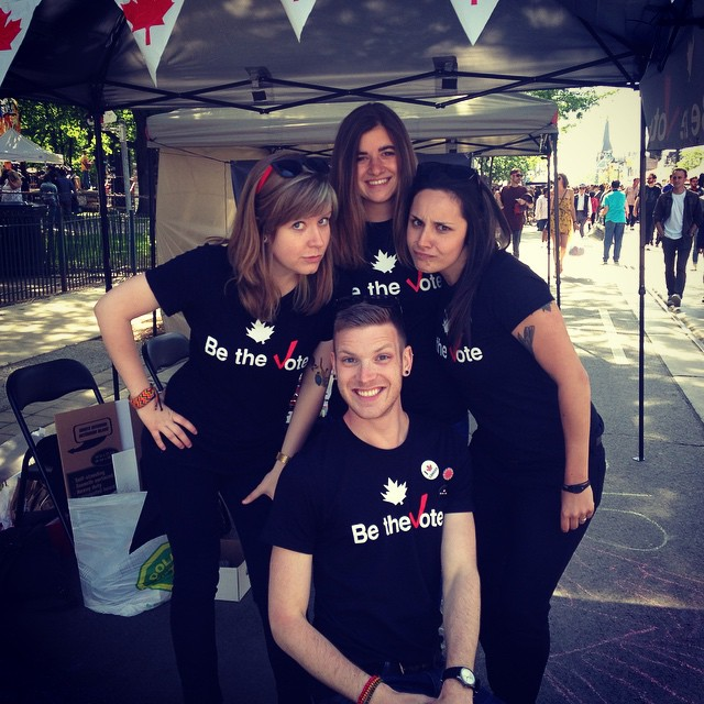 be the vote at dundas west fest
