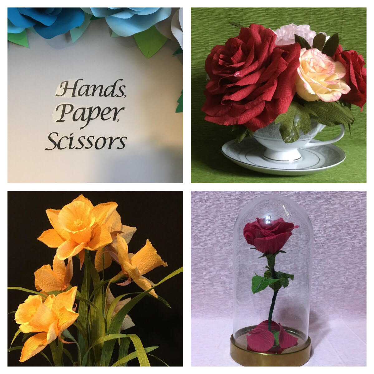 Hand, Paper, Scissors