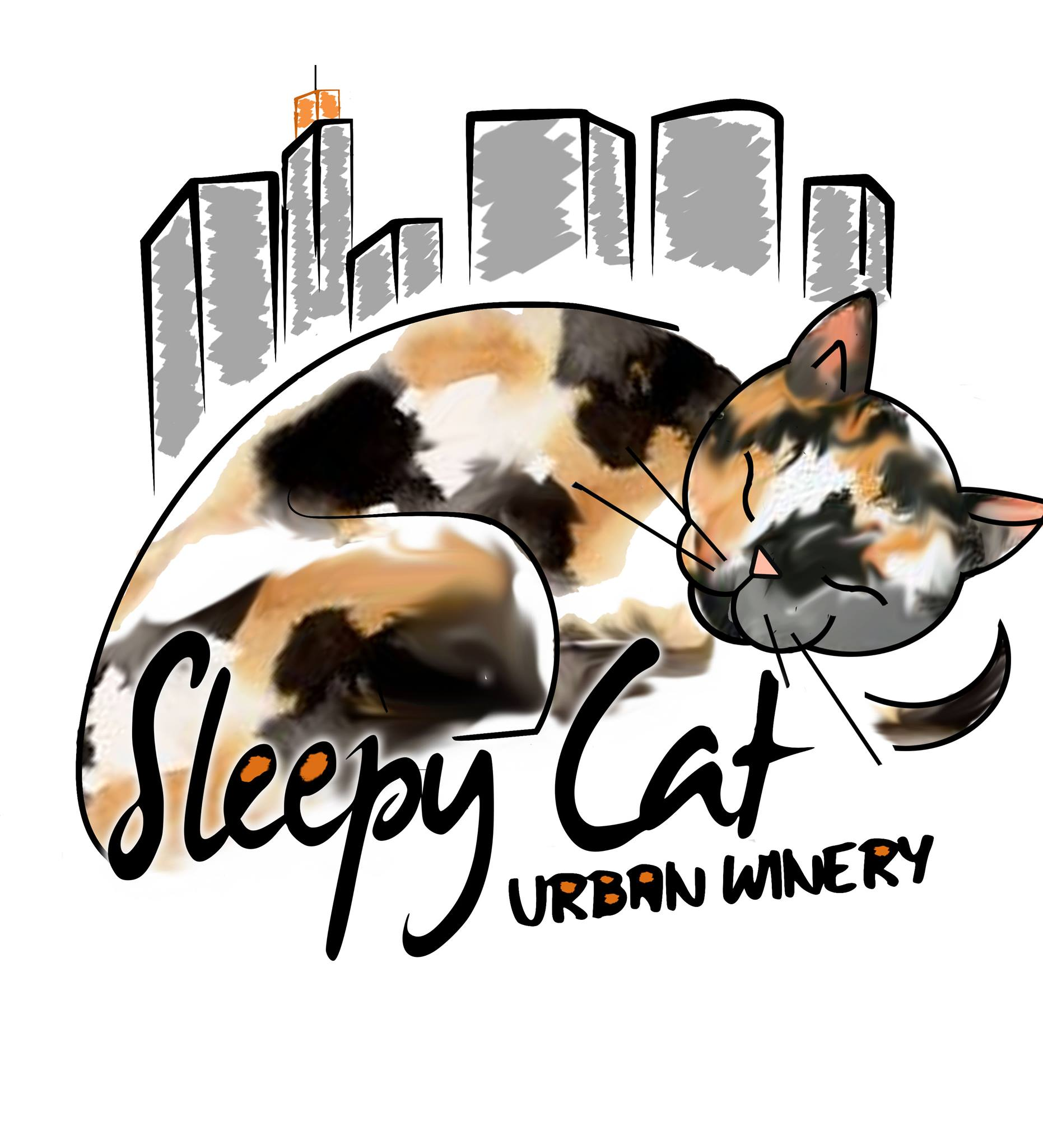 Sleepy Cat Urban Winery Logo