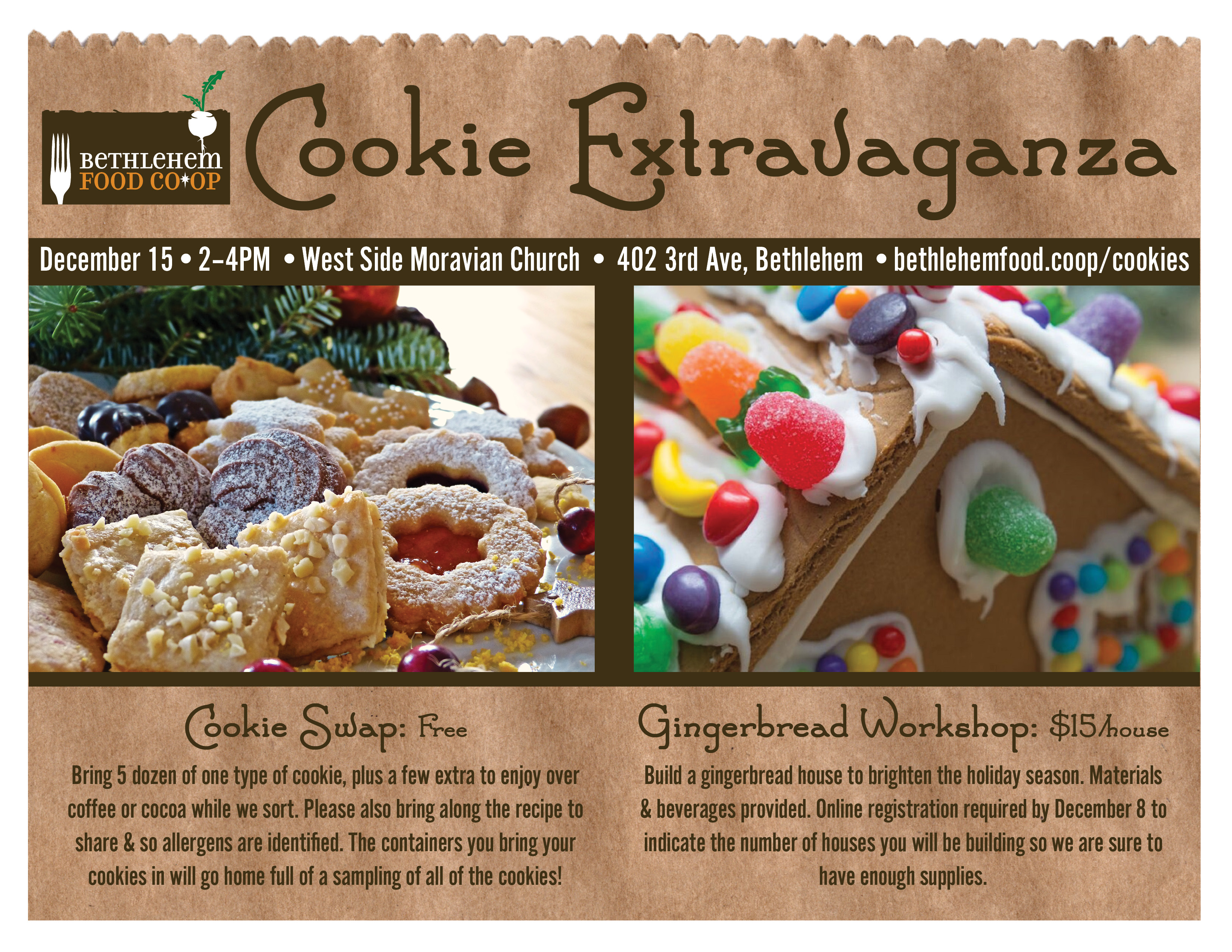 Cookie Extravaganza Flyer