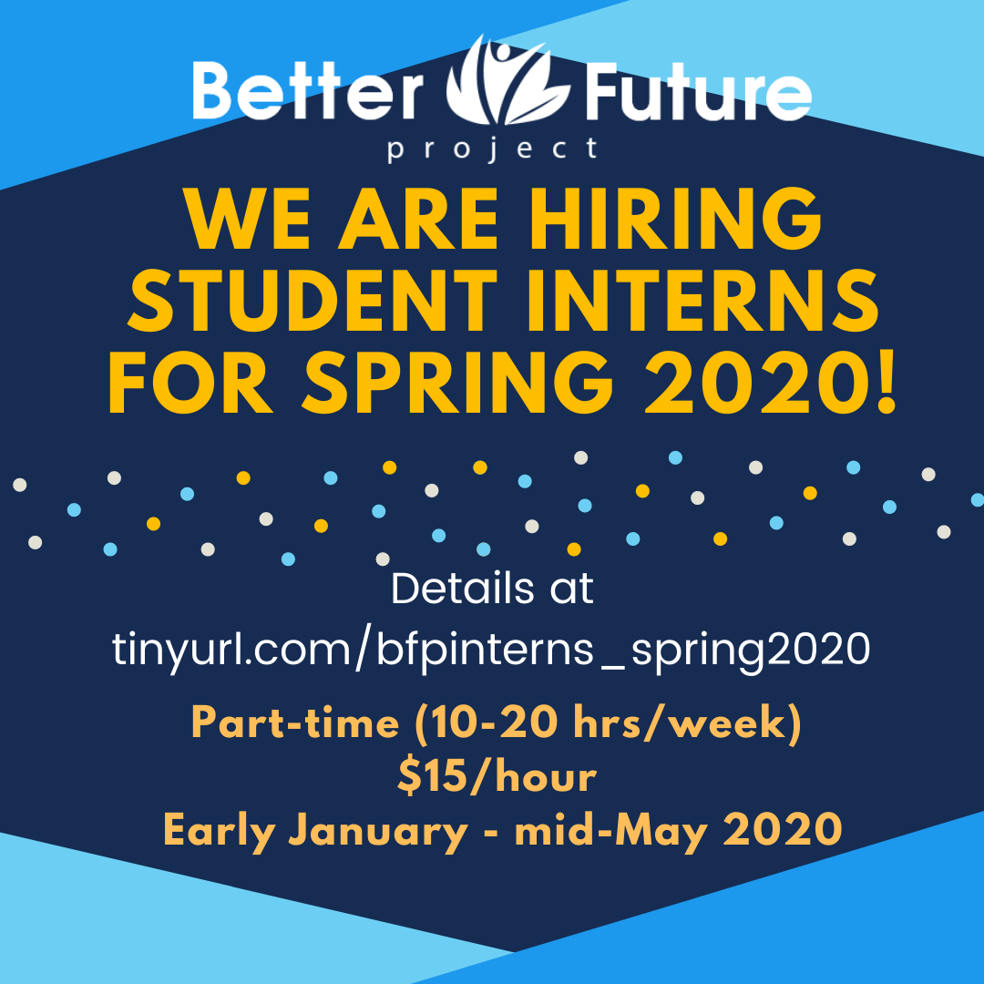 BFP Hiring interns for spring 2020