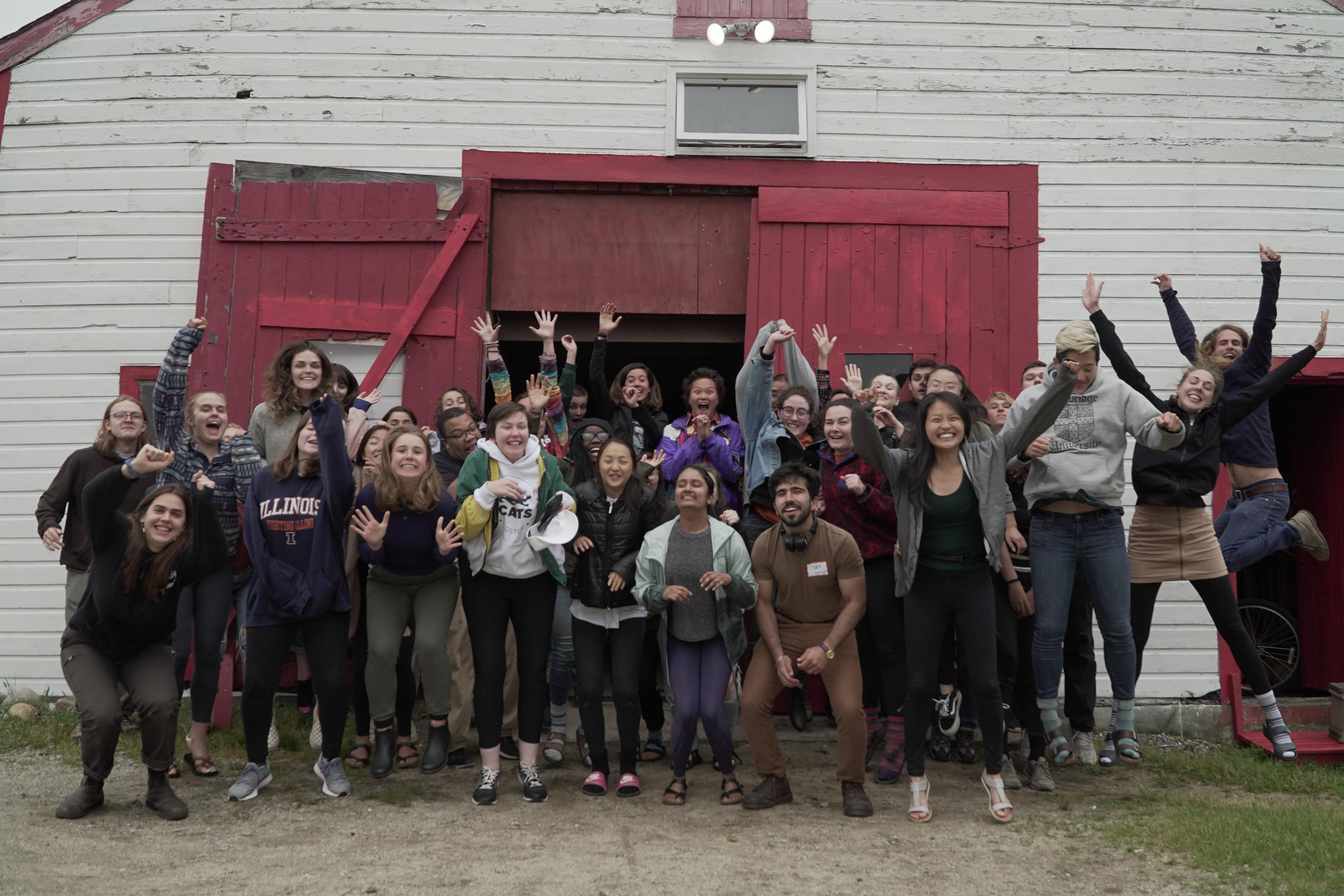 2019 June Fellowship Retreat Group Photo
