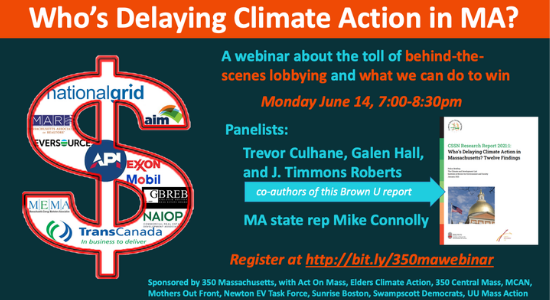 Who's Delaying Climate Action in MA?