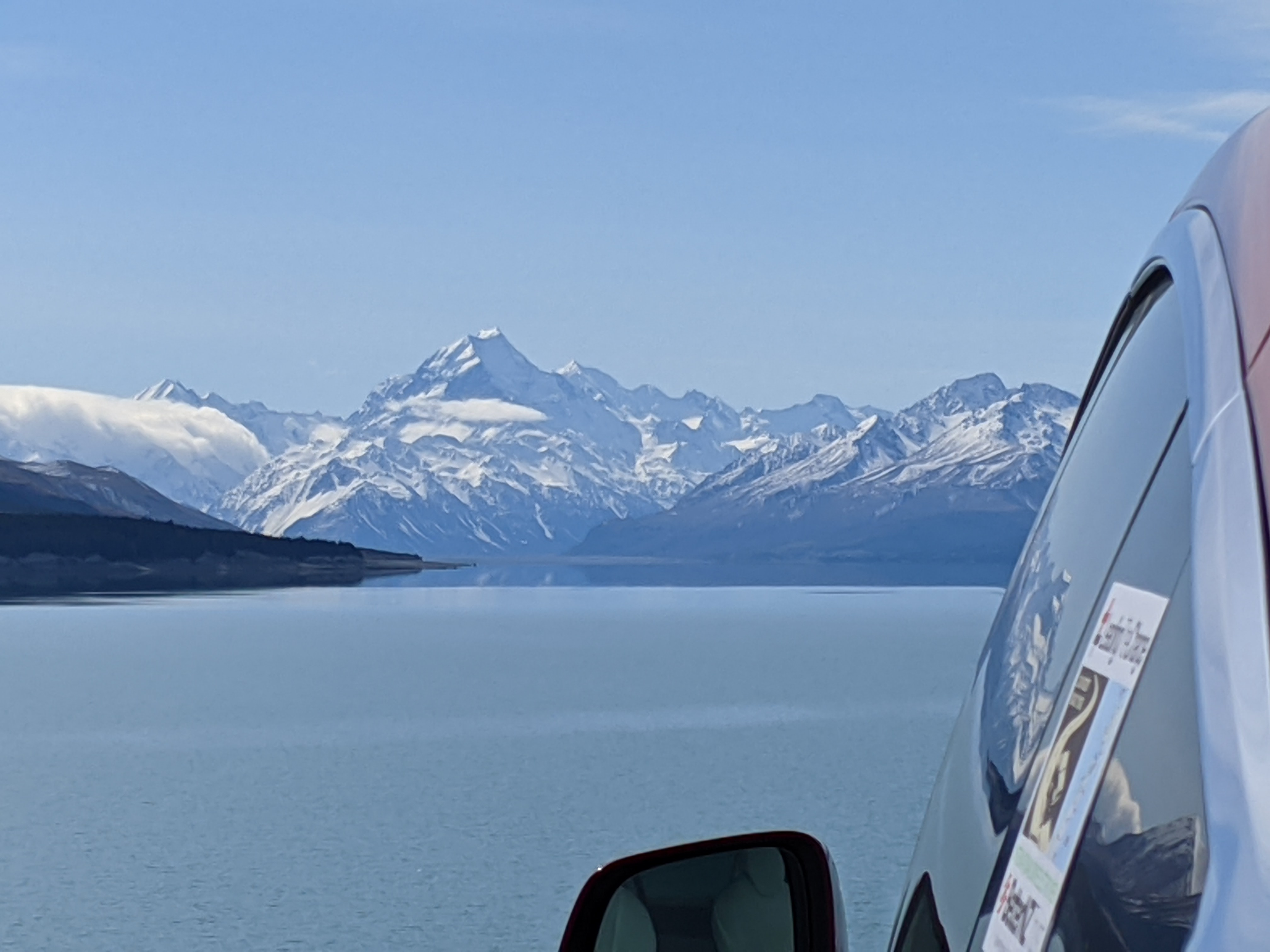 Very from the Pukaki lookout