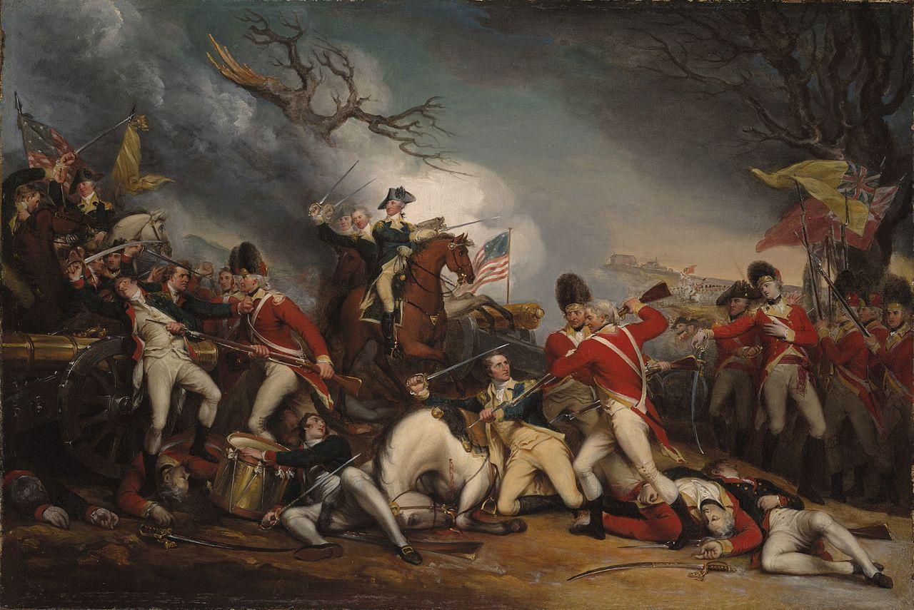 A scene of battle