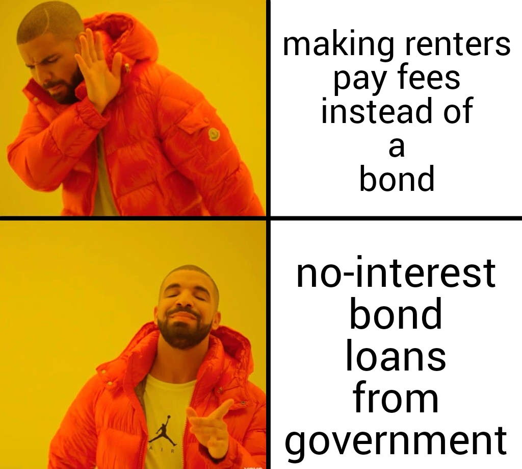 Drake supports no-interest bond loans from the ACT government