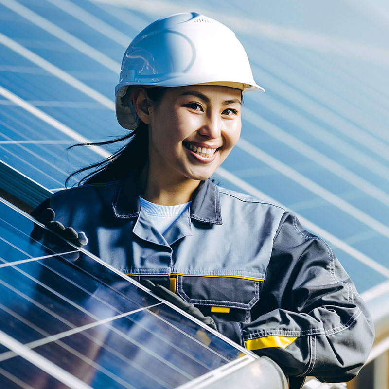 For renewable energy jobs