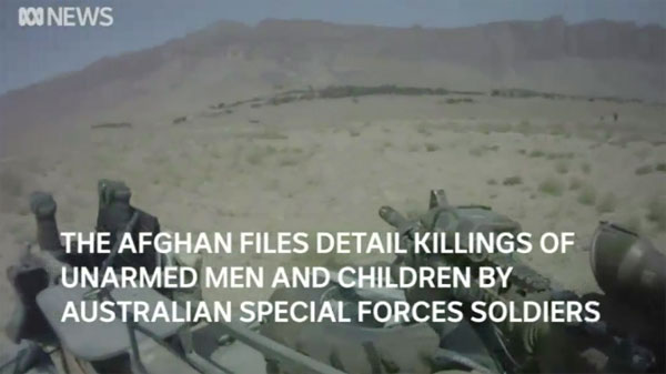 Afghan files image - civilian casualties