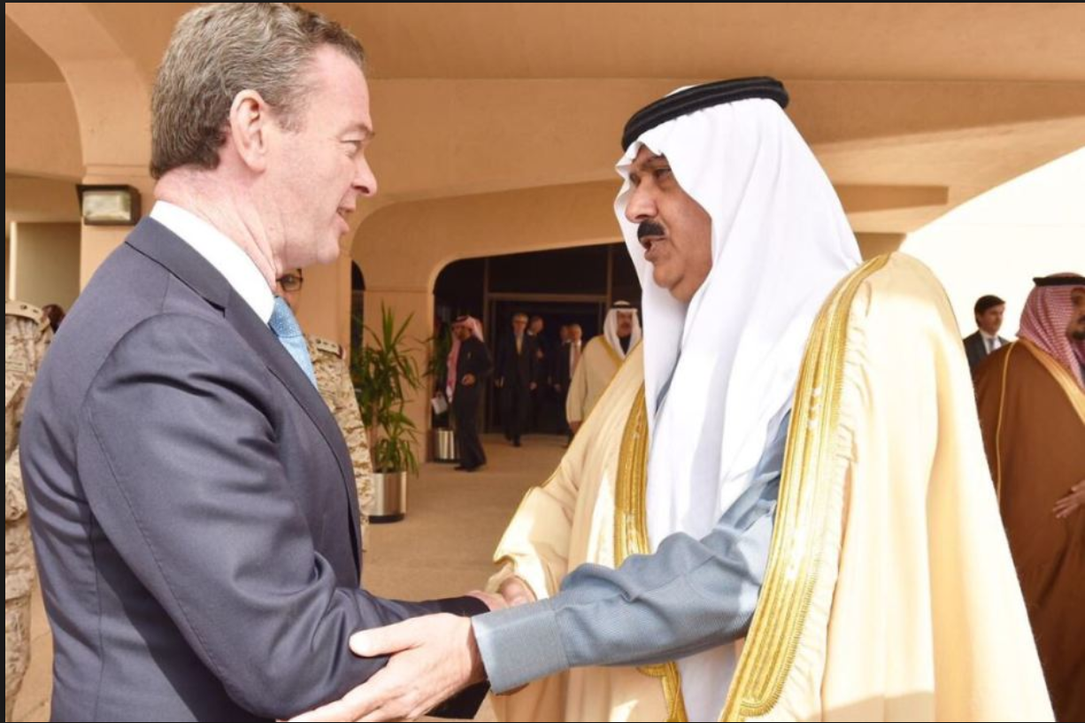 Christopher Pyne Spruiks Aussie Arms To Saudi Arabia