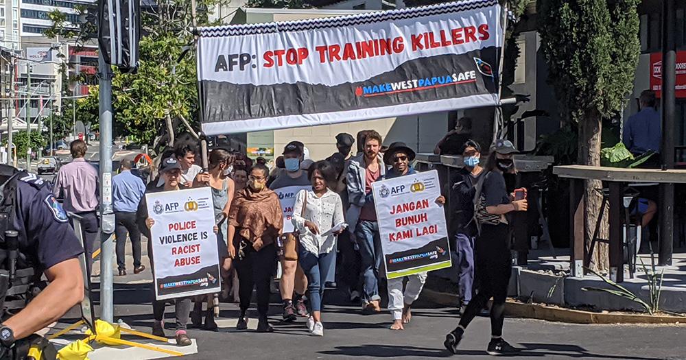 AFP Action Brisbane stop training killers