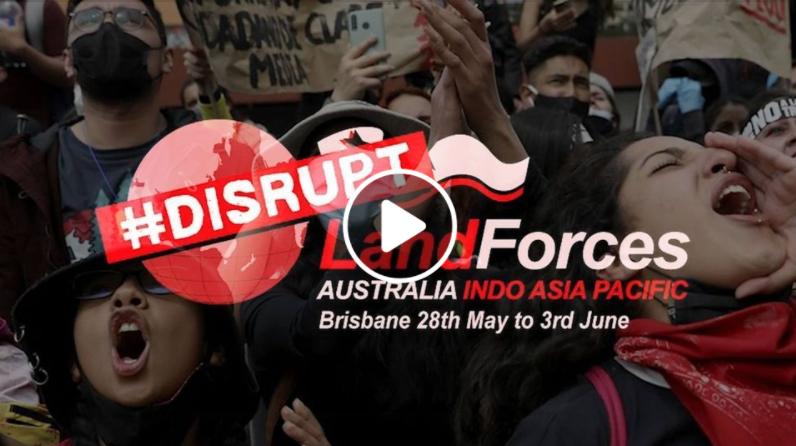 Disrupt Land Forces Festival video