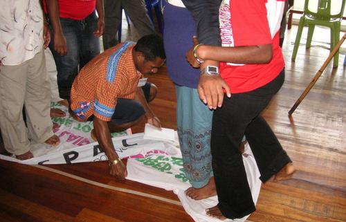 creative activism workshop