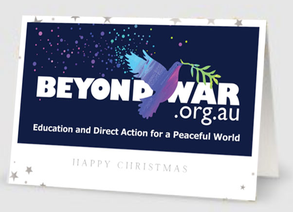 Beyond War christmas card