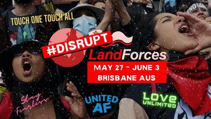 Disrupt Land Forces Graphic