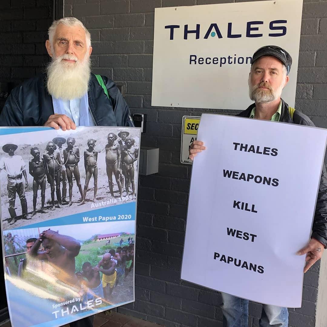 Peter and Jason at Thales