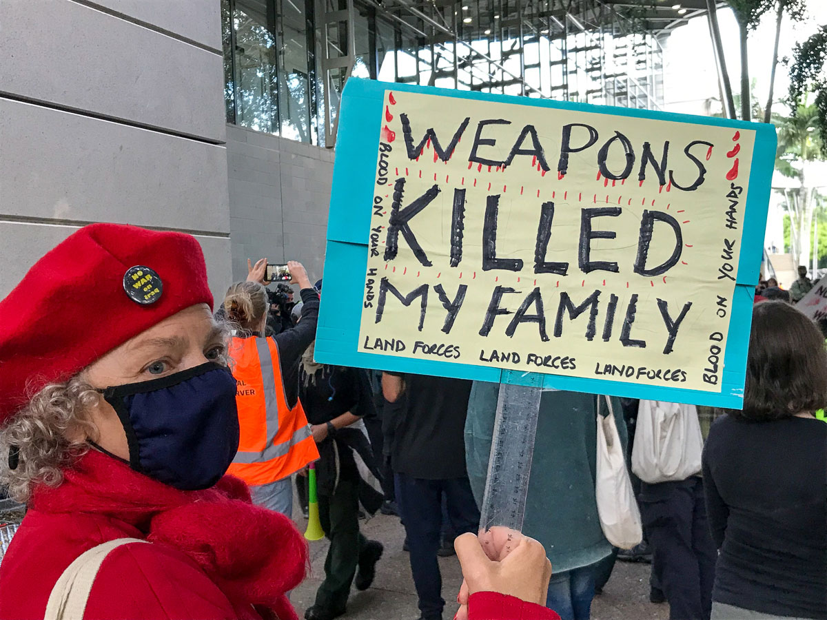 Weapons killed my family