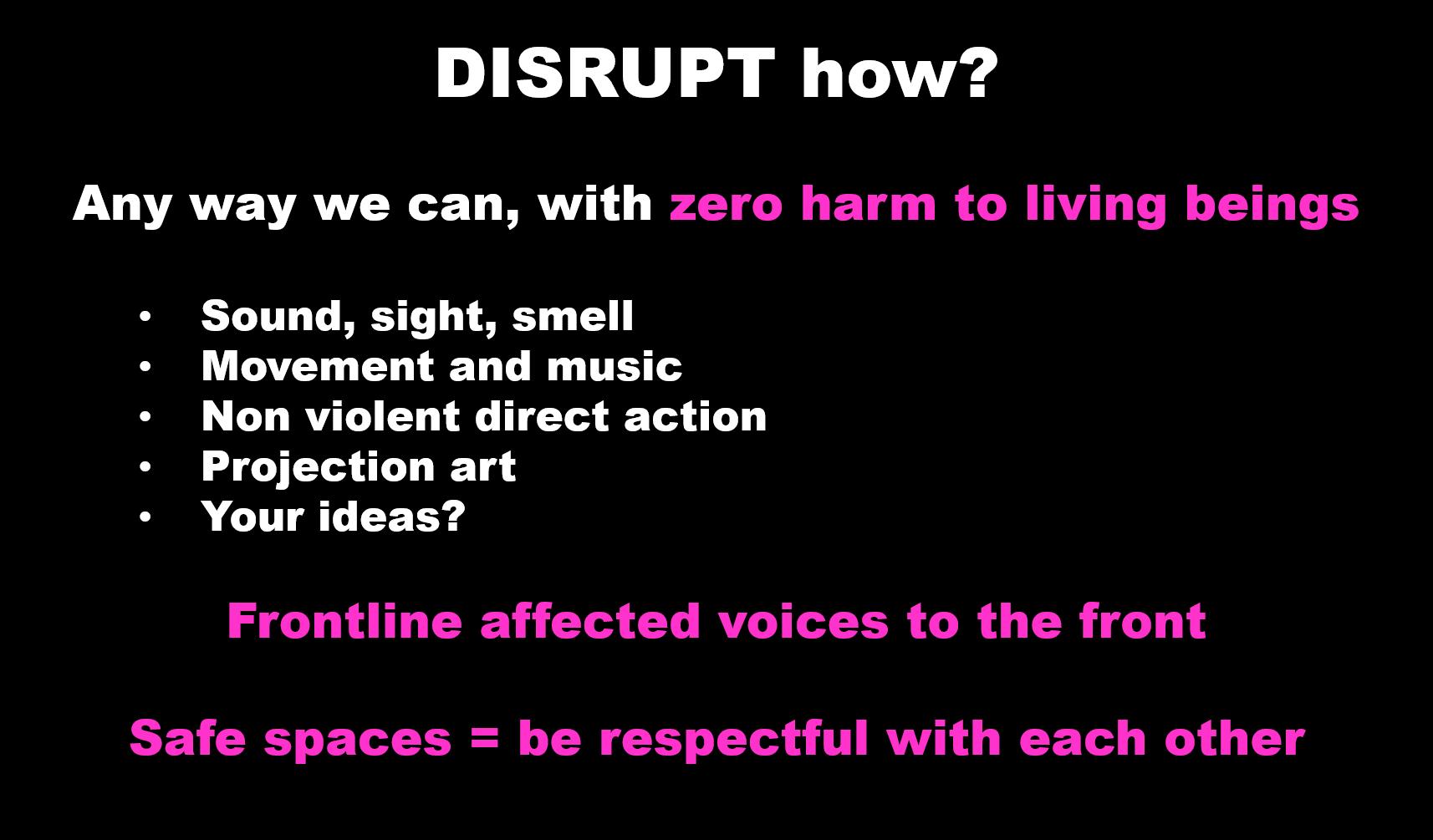 Disrupt How