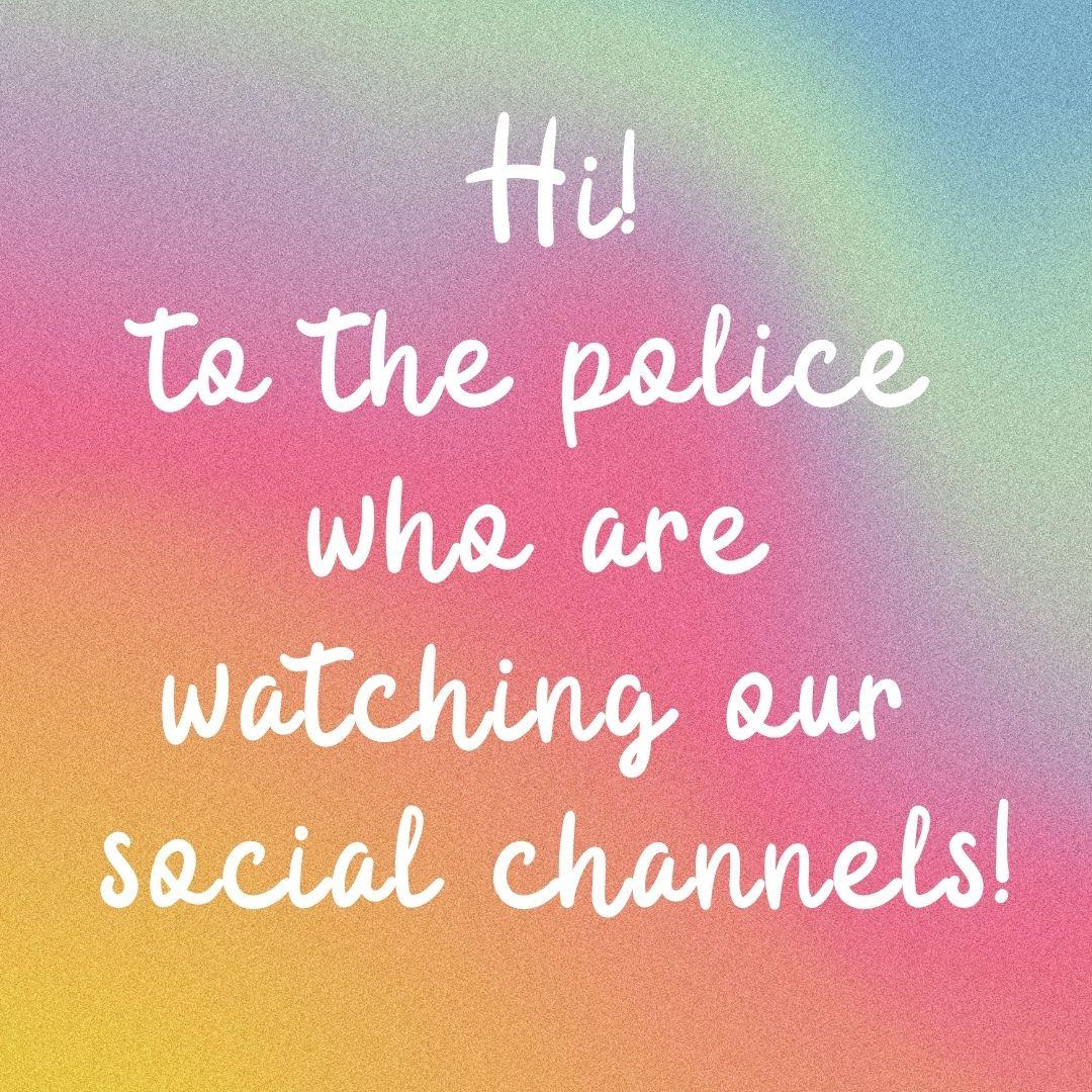 to the police rainbow