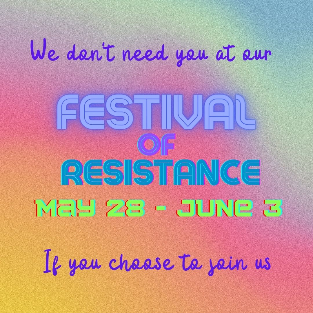 We dont need police at Festival of resistance