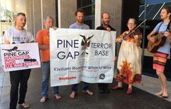 Pine gap pilgrims 2016