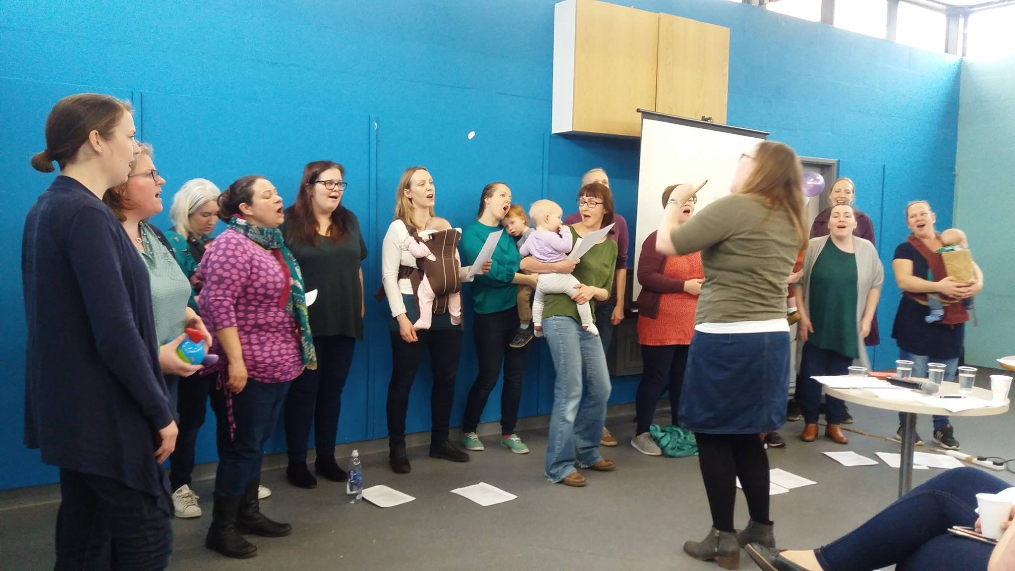 Baby Blues Choir sings up a storm at International Women's Day - The