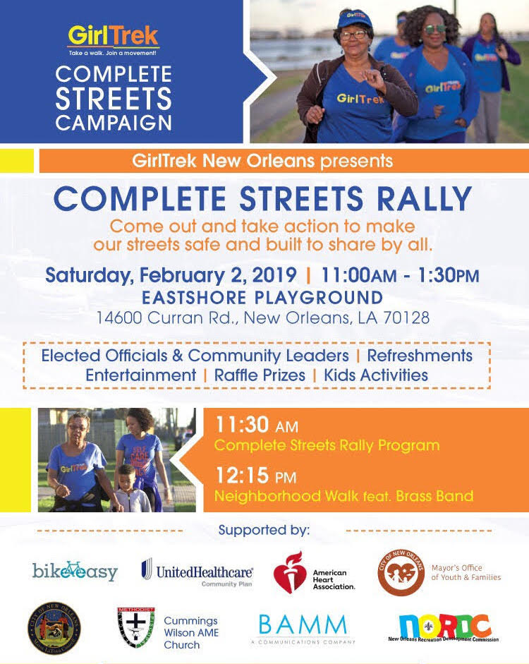 GirlTrek rally poster