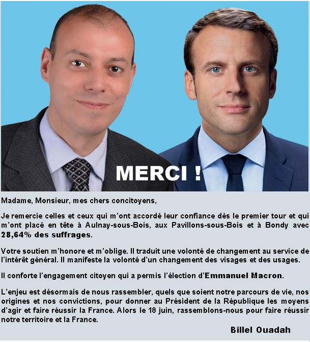 Merci à Aulnay, aux Pavillons et à Bondy ! - image  on http://www.billelouadah.fr