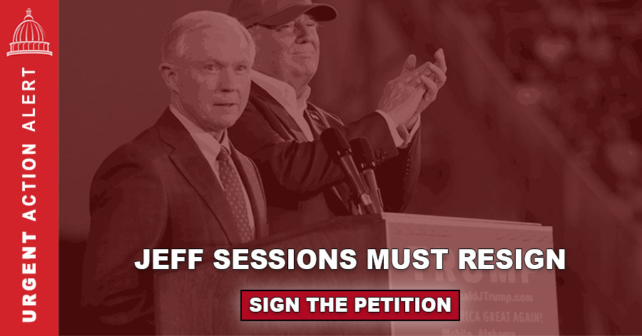 Petition - Sessions Must Resign