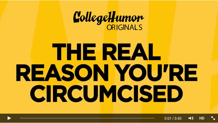 The real reason you're circumcised