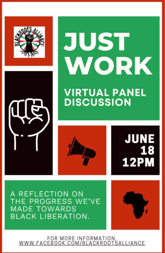 Just Work: Juneteenth Event