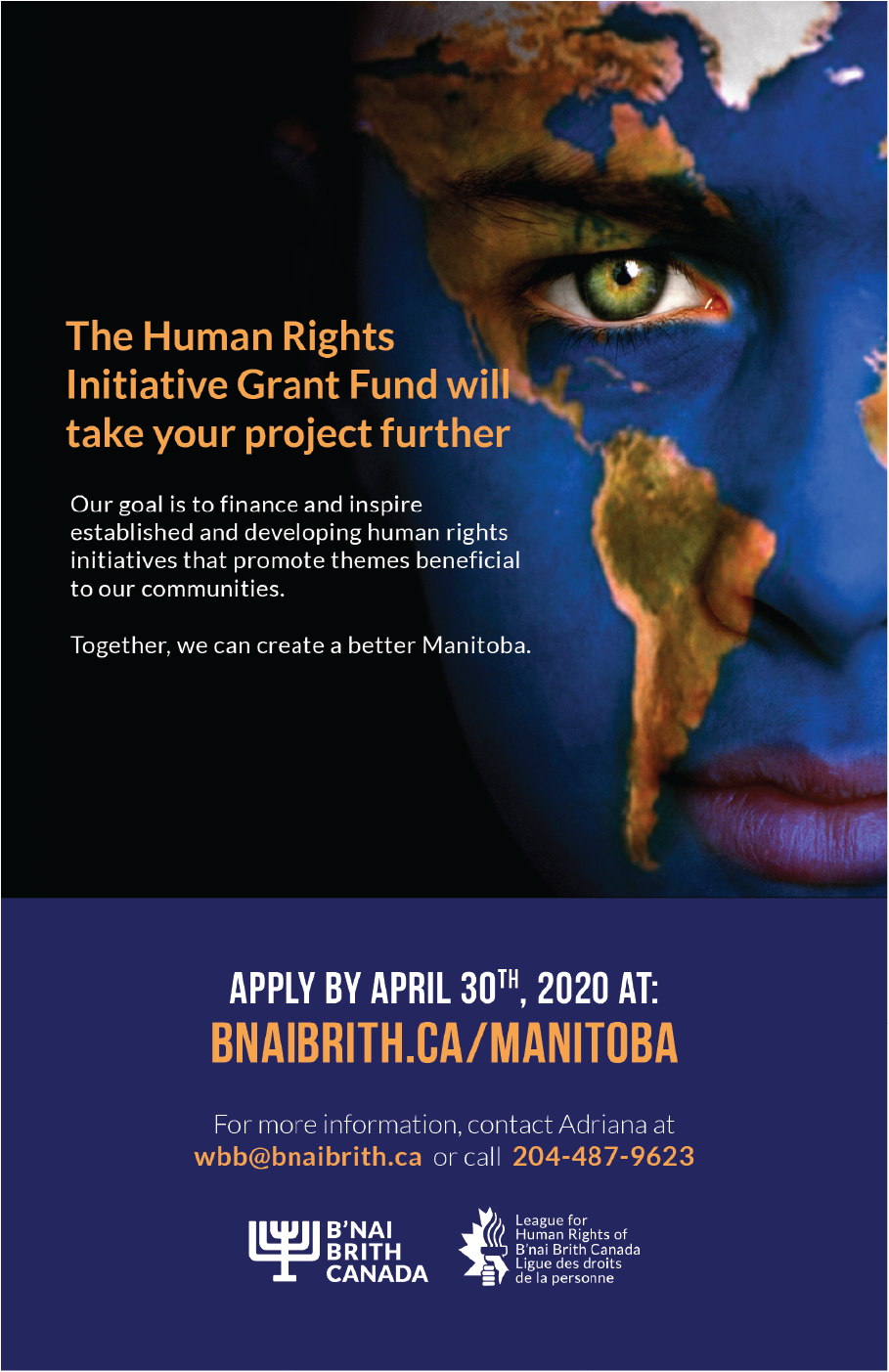 Human Rights Initiative Grant Poster
