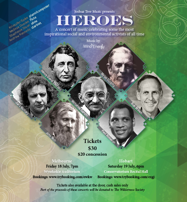 HEROES Concert Poster
