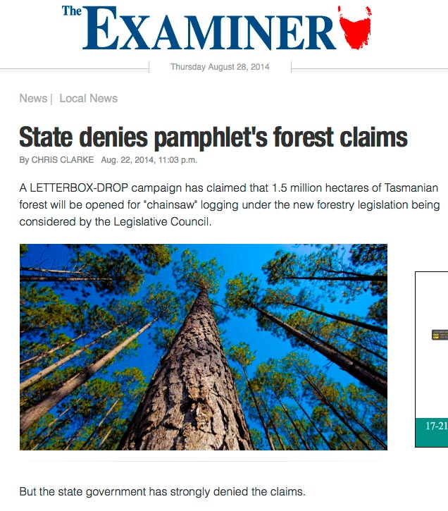 The Examiner Thursday August 28, 2014