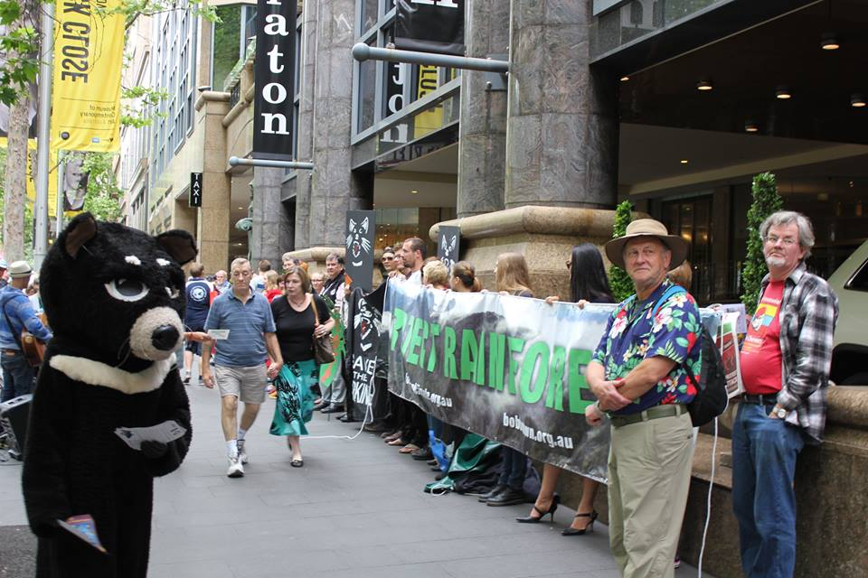 Rainforest Protest Sydney