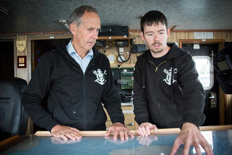 Bob Brown and Peter Hammarstedt. Photo: Simon Ager