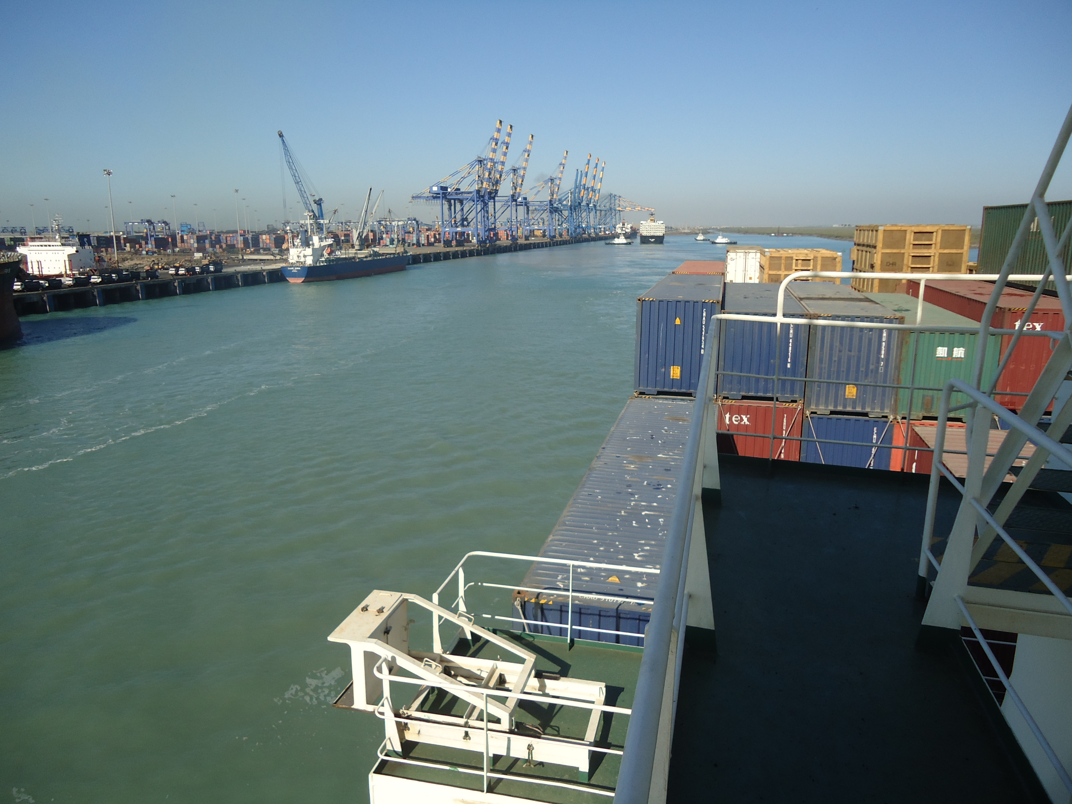 Adani's port complex at Mundra. Photo courtesy Google Images