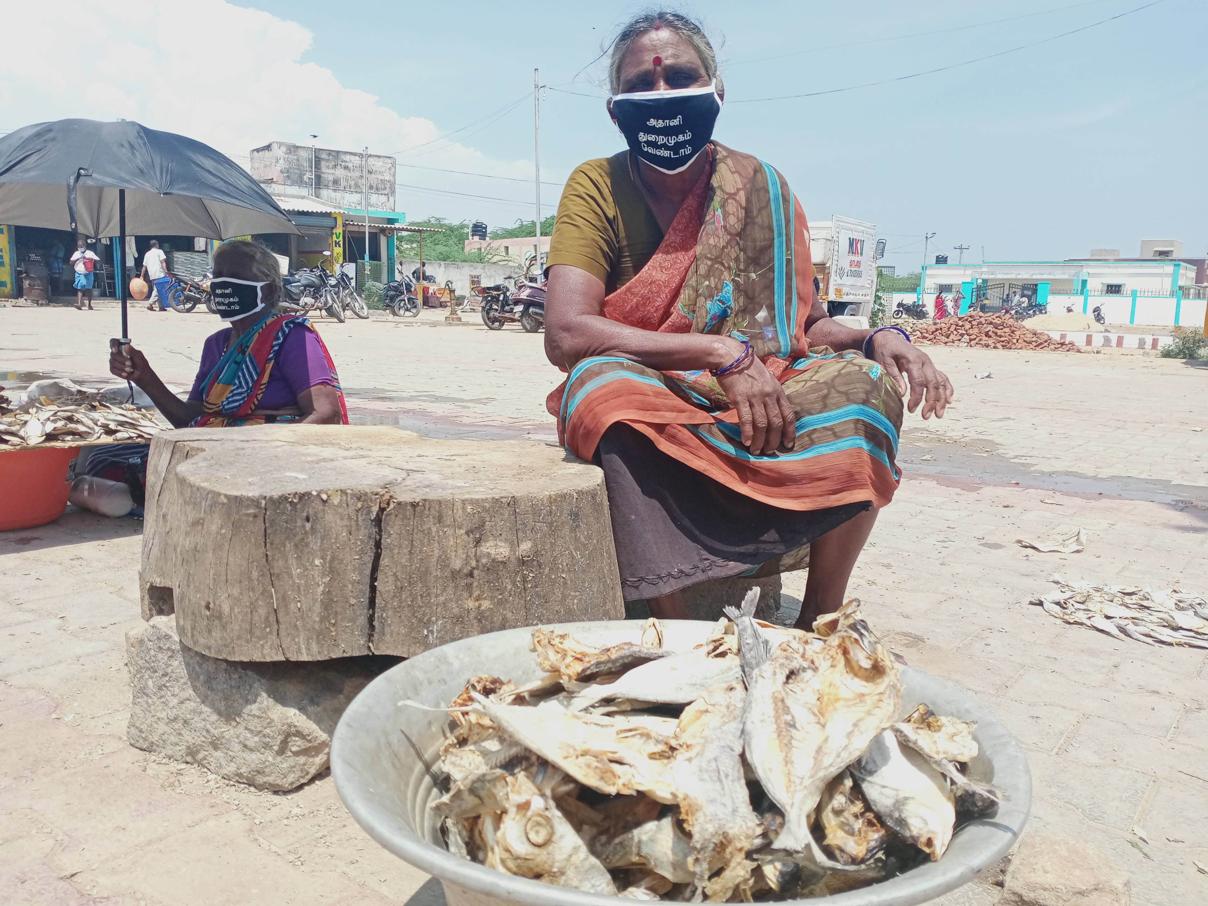 9. Women fishers are the backbone of the region's economy. They will be particularly affected if the fishing livelihoods collapse. Many women single-handedly raise children and support households by salting, drying and selling fish.