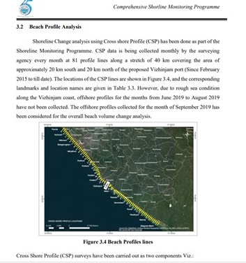 Report carried out by the National Institute of Ocean Technology
